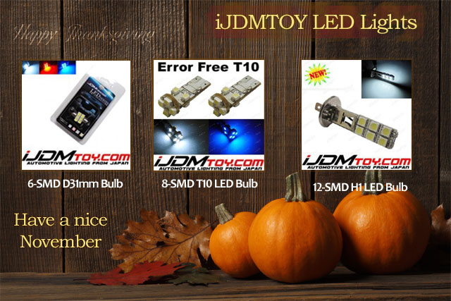 SMD LED lights at iJDMTOY